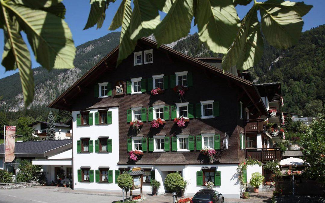 Essen im Hotel Adler St. Anton