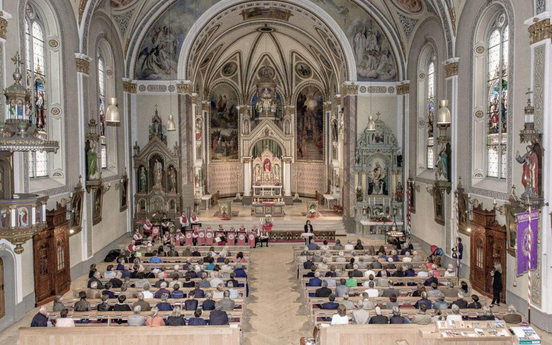 Schrunser Kirche wird Münster: Kirchen und Barock im Montafon