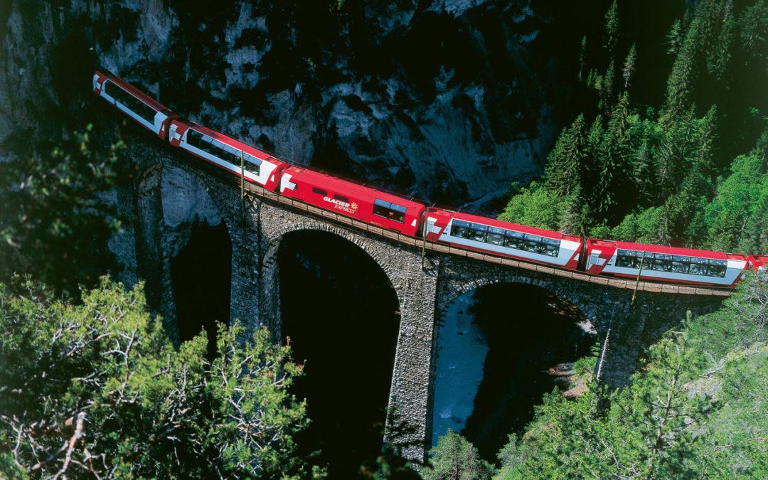 Mit dem  Panoramazug zum anderen Ende der  Via Valtellina