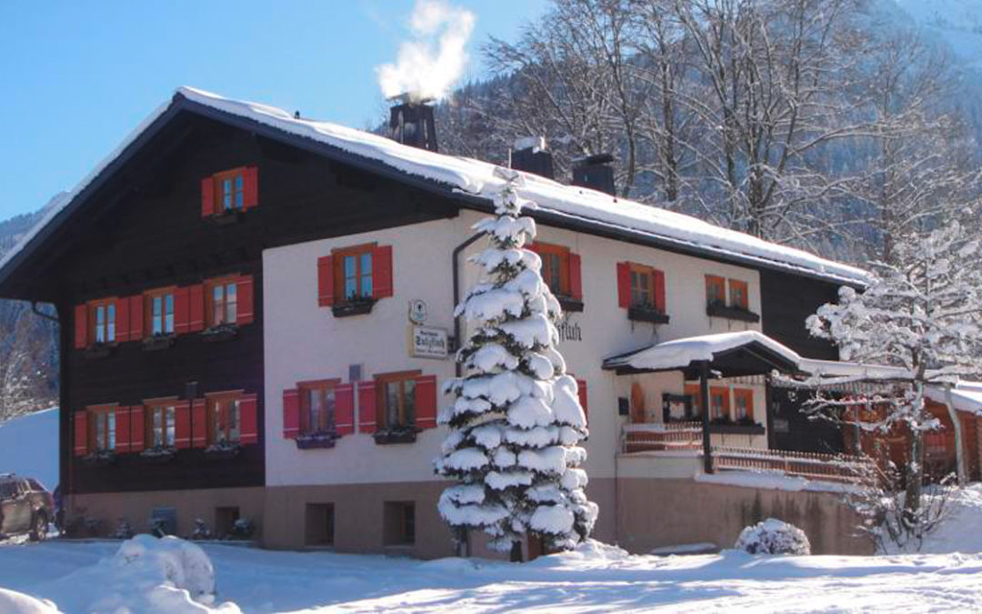 Gasthof Sulzfluh in Latschau