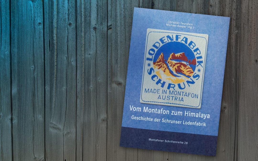 Buchtipp: Vom Montafon zum Himalaya, Geschichte der Schrunser Lodenfabrik.