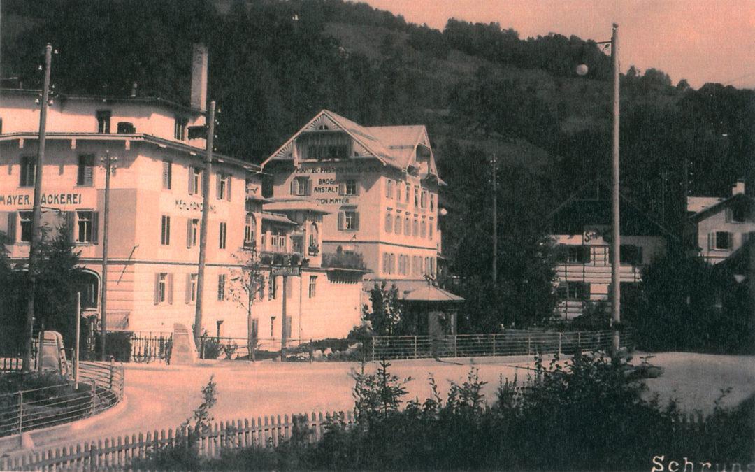Die Schrunser Lodenfabrik und ihre Spuren in der heutigen Zeit