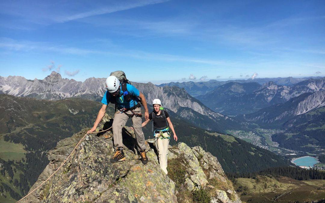 Bergsteigen und Klettern im Montafon