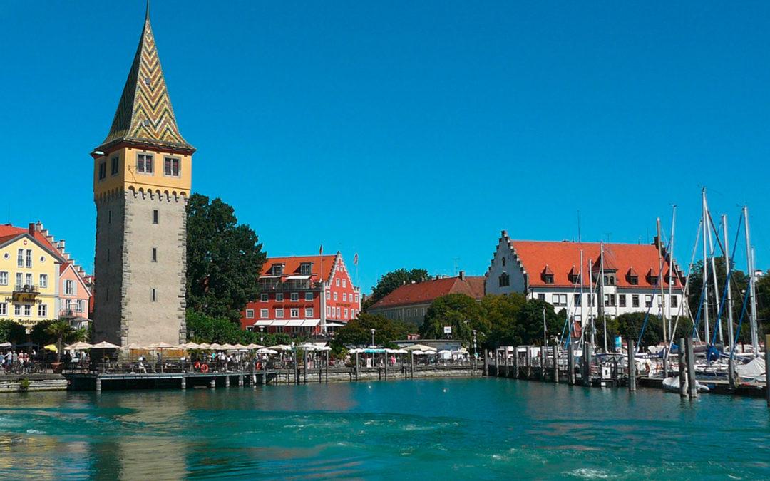 Lindau: Mit der Bahn auf die Bodenseeinsel