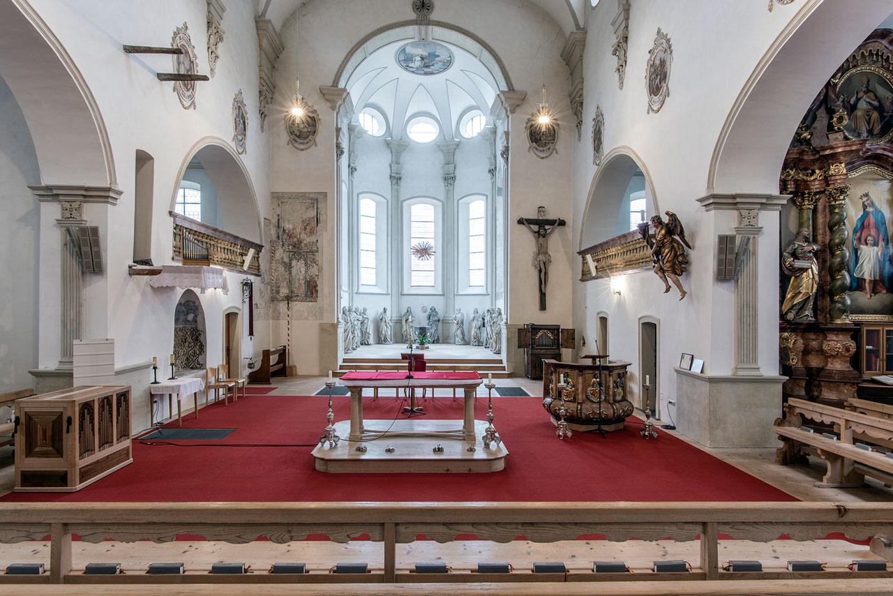 Chor der Pfarrkirche St. Gallenkirch (Foto: Manfred Schlatter)