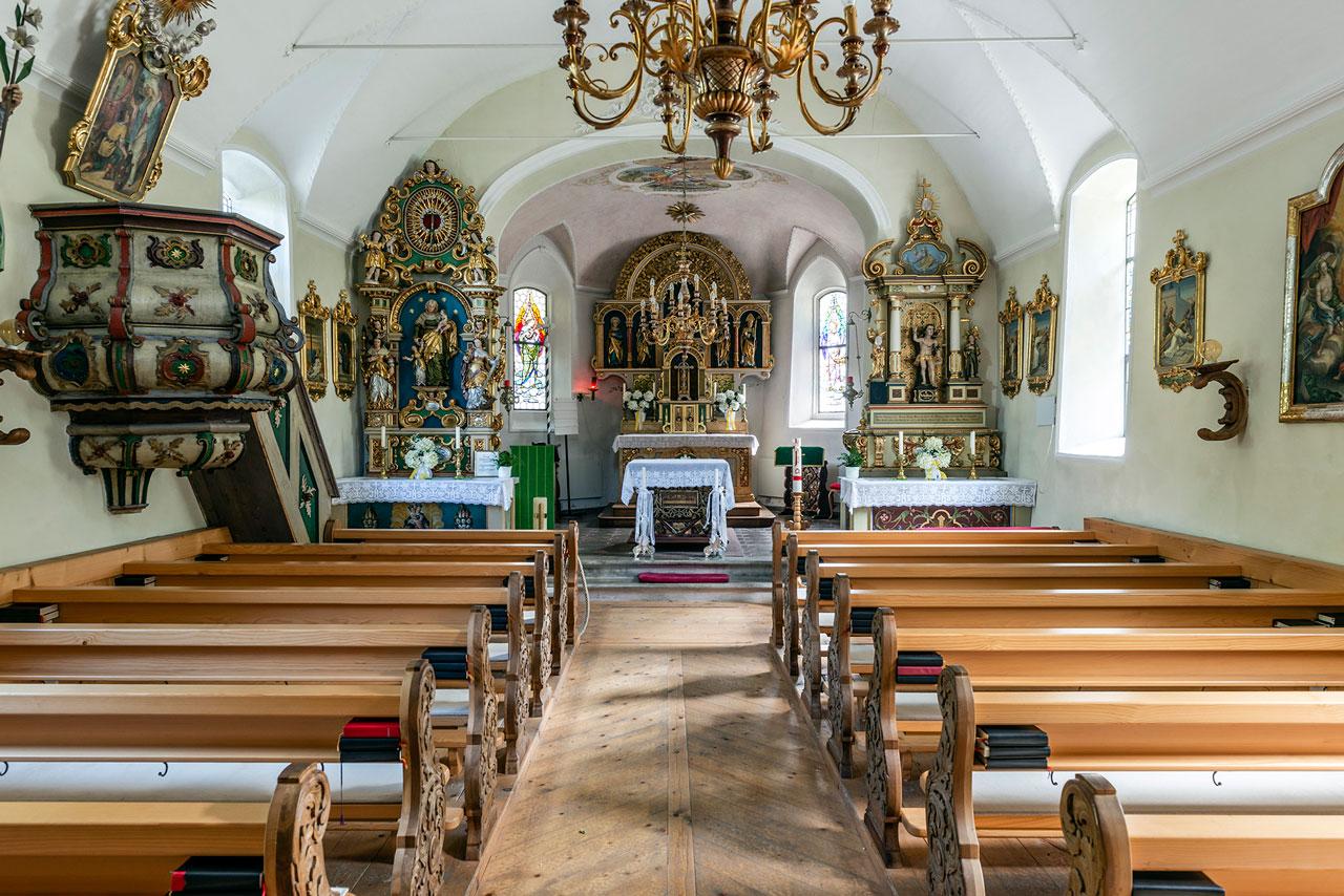 Kirche Gargellen (Foto: Manfred Schlatter)
