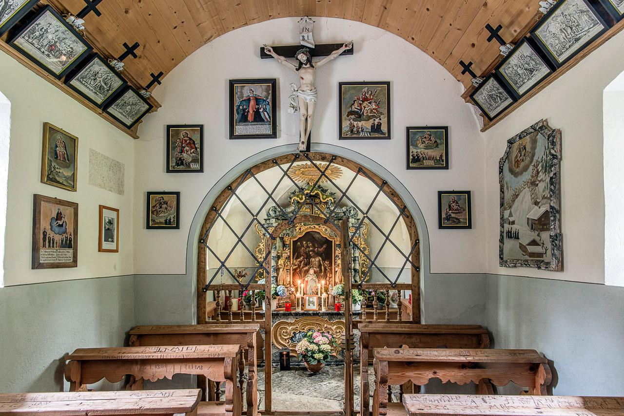 Kapelle Rüti Innenansicht (Foto: Manfred Schlatter)