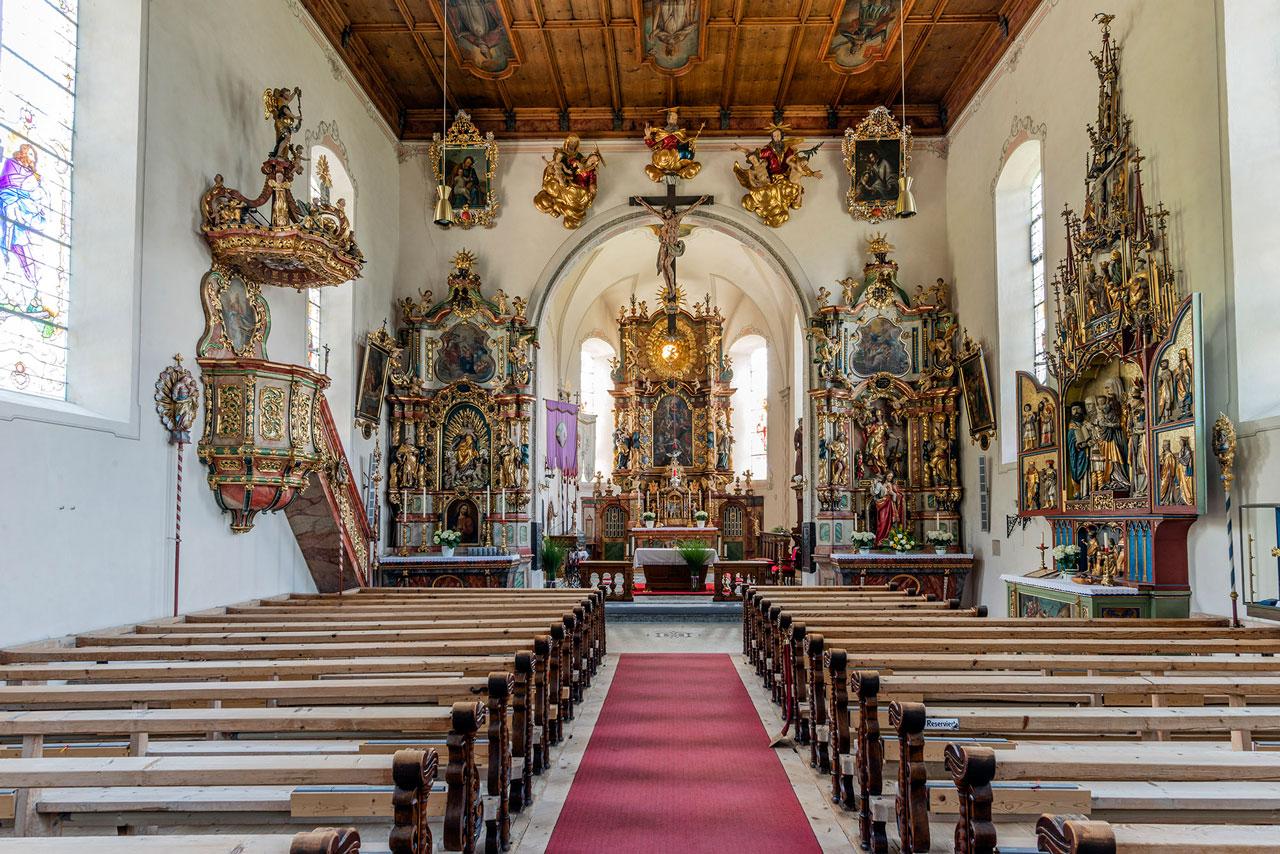 Pfarrkirche Bartholomäberg (Foto: Manfred Schlatter)