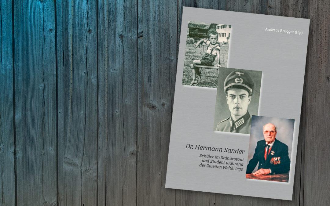 Buchtipp: Dr. Hermann Sander
