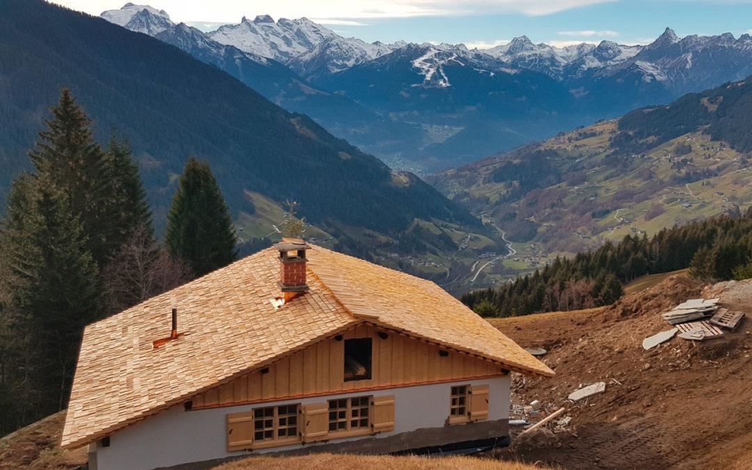 Dachschindeln: Warum gibt's zu wenig Schindelholz aus dem Montafon?
