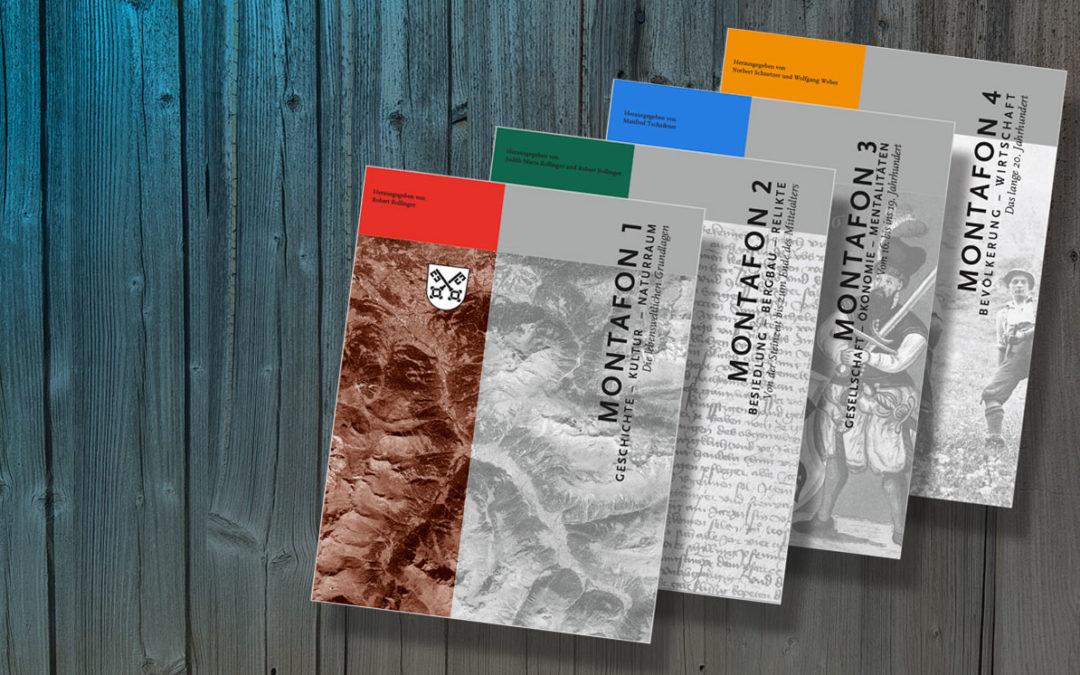 Buchtipp: Montafoner Geschichte in 4 Bänden